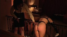 Mandi Slade and Sin D. adore being filthy bondage whores today
